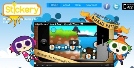 """Teachability: Mobile Learning: Stickery's New """"Edutainment"""" Platform Excites Investors 
