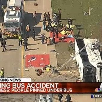 2 dead, dozens injured in charter bus crash near Dallas | Jessica-Current Issues | Scoop.it