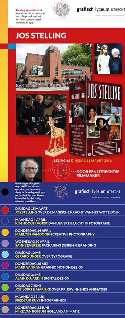 GLU Lezing 15 maart: Jos Stelling - Filmmaker   BlokBoek e-zine   Scoop.it