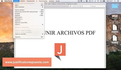Cómo unir archivos PDF totalmente gratis y en segundos | TIC | Scoop.it