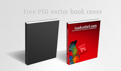 Free PSD vector book cover - Photoshop PSD files and tutorials | Free Photoshop Tutorials | Scoop.it