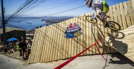 Cédric Gracia sur la Red Bull Valparaiso 2013 en caméra embarquée | Le sport en milieu urbain | Scoop.it