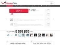 ManageFlitter. Mieux manager vos followers sur Twitter. | Les outils du Web 2.0 | Scoop.it