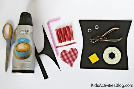 Recycled Valentine Craft | recycled craft items | Scoop.it