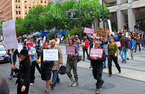 Occupy SF Protesting in San Francisco | Agora Brussels World News | Scoop.it