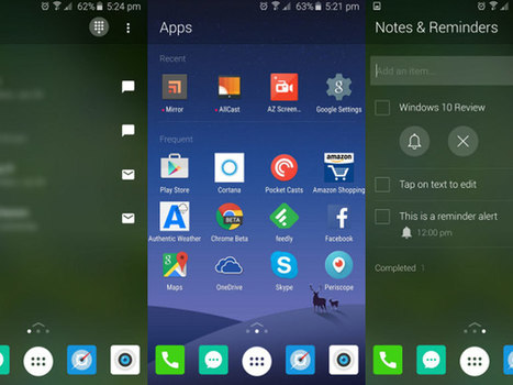 Arrow : un lanceur d'applications pour Android signé... Microsoft - CNET France   Applications Iphone, Ipad, Android et avec un zeste de news   Scoop.it