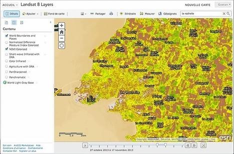 arcOrama: Le meilleur de Landsat 8 à portée de main sur ArcGIS ... | SIG | Scoop.it
