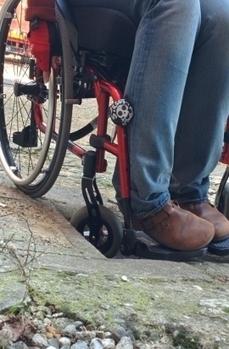 """Briciole architettoniche e vita su quattro ruote, tutti gli ostacoli """"minori""""   Disabilità e dintorni   Scoop.it"""