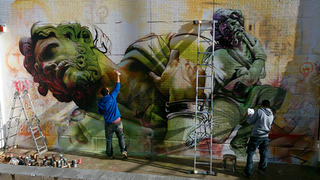 Vicar Wall | PichiAvo – Art, design, graffiti | Tablets na educação | Scoop.it