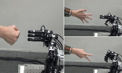 Rise of the rock, paper, scissors machines: Japanese robot's reflexes are so ... - Daily Mail | business | Scoop.it