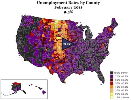 Geography of a Recession | Geography Education | Scoop.it