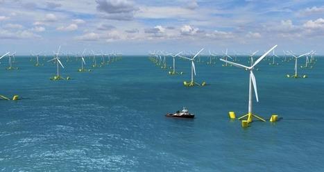 Eolico galleggiante: potrebbe produrre 4 volte l'energia necessaria all'Europa | Il mondo che vorrei | Scoop.it