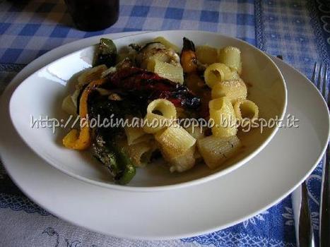 Dolcimanontroppo: GRATIN TRICOLORE DI PASTA CON ...   Pasta   Scoop.it