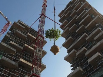 Stefano Boeri's Vertical Forest gets planted | Vertical Farm - Food Factory | Scoop.it