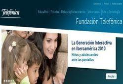 Fundación Telefónica enseña el uso de las TIC en salas de clases - CanalCL | tic-geomatica | Scoop.it