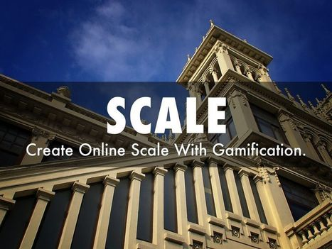 "Creating Online Scale With Gamification"" - A @HaikuDeck 