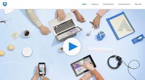 DropBox. Nouvelles fonctions pour améliorer productivité et collaboration - Les Outils Collaboratifs | Web information Specialist | Scoop.it