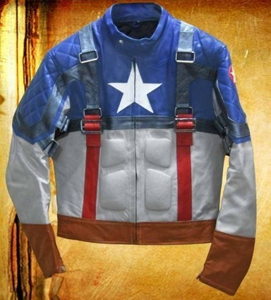 Captain America Jacket - The First Avenger Jacket | Captain America The First Avenger costume | Scoop.it