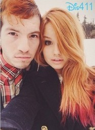Photo: Debby Ryan And Josh Dun In The Snow December 30, 2013 | Bella Thorne | Scoop.it