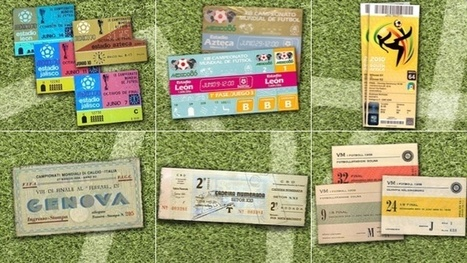 80 Years of World Cup Ticket Designs - Gizmodo   art   Scoop.it