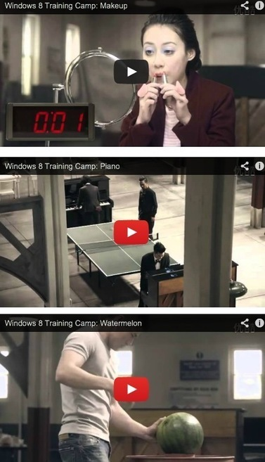 Marketing Windows 8 en Asia, campaña de publicidad inteligente - MuyComputer   Advertising   Scoop.it