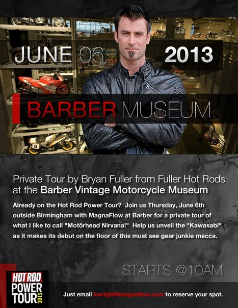 Private Tour at the Barber Vintage Motorcycle Museum with Bryan Fuller June 6th, 10am | Ductalk Ducati News | Scoop.it
