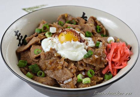 גיודון - קערת בשר יפנית | תאבון עולמי | Scoop.it