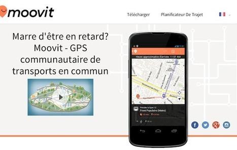 Moovit, le Waze des transports publics, lève 28 millions de dollars | Cartographie XY | Scoop.it