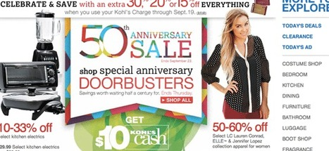 Kohls department store 50th anniversary Celebrations | Kohls department store news | Scoop.it