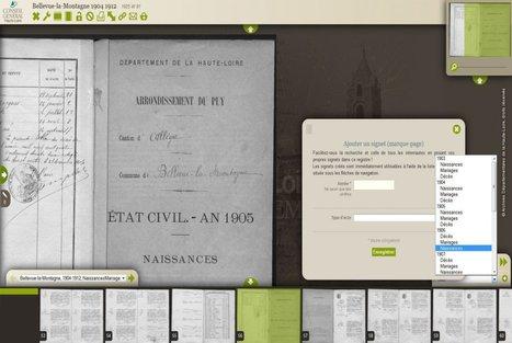 Archives départementales de la Haute-Loire : l'outil de création de signets accessible à tous ! | Nos Racines | Scoop.it