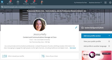 LinkedIn Reveals Redesign of Its Desktop Website | Design Week | SocialMoMojo Web | Scoop.it