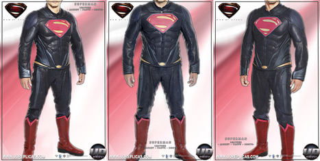 UD Replicas Superman Motorcycle Leathers - RideApart | Moto Riding Gear | Scoop.it