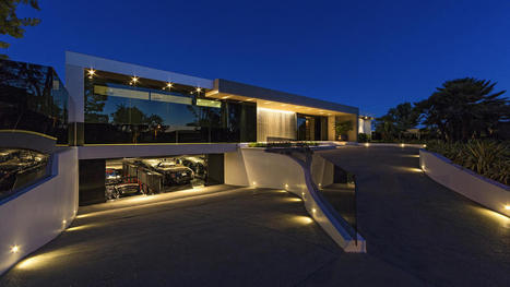L.A.'s most extreme home hits the market at $85 million   News from Italy about Design & 3D Graphic   Scoop.it