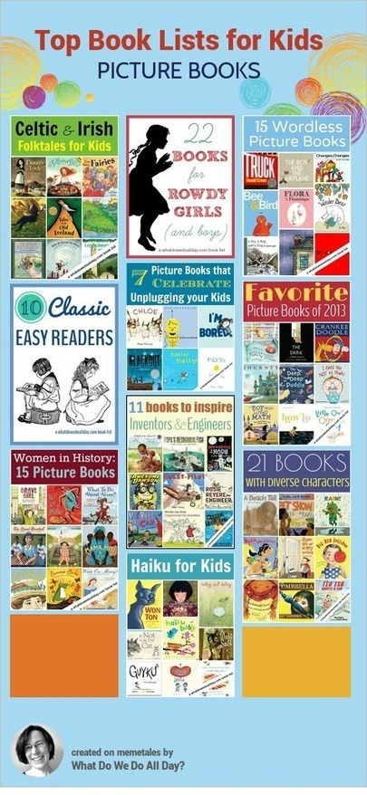 Top 10 Picture Book Lists for Kids - What Do We Do All Day? | HCS Books and Reading | Scoop.it