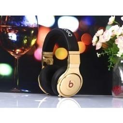Monster Pro Beats 24K Gold Black Headphones MB229 | beats headphones 24k gold outlet | Scoop.it