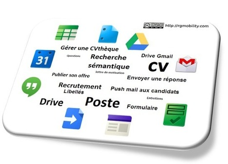 Recrutement 2.0 : Gestion des candidatures avec Google apps | Time to Learn | Scoop.it