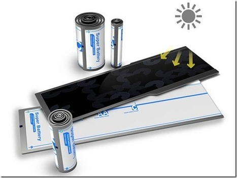 » Concept solar battery Future technology | New technologies | Scoop.it
