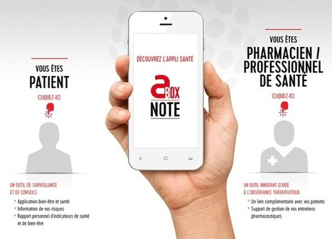 Abox note : carnet de santé sur mobile | Pharma Hub | Scoop.it