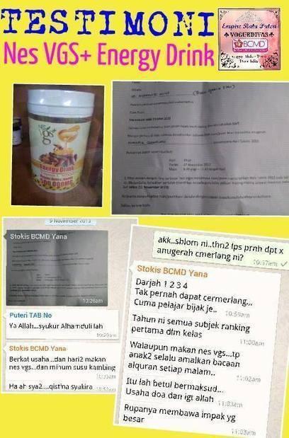 Nes VGS Energy Drink BAGUS untuk ibu mengandung | encik titan | Scoop.it