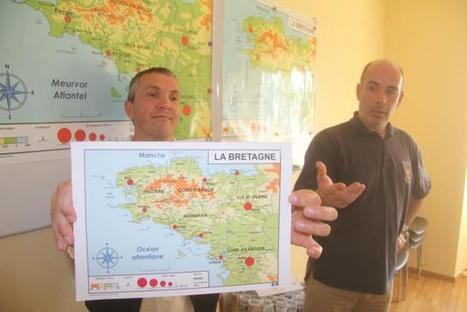 Insolite. Une nouvelle carte de Bretagne pour les écoliers | Ma Bretagne | Scoop.it