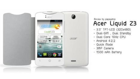 Harga Acer Liquid Z3 dan Spesifikasi HP Acer Jelly Bean Murah Terbaru | Harianponsel | Scoop.it