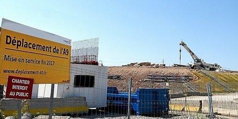 Montpellier : sur le chantier de l'A9, c'est la guerre des levageurs - Midi Libre | Autoroute A9 | Scoop.it