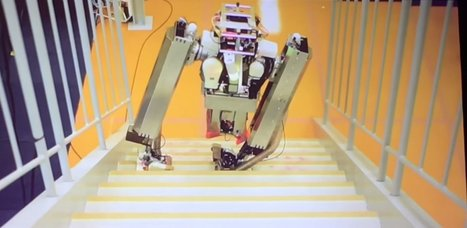 Watch Google X Unleash an Awesome Two-Legged Robot on Tokyo | Embodied Zeitgeist | Scoop.it