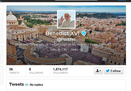 The pope's 5 most popular tweets | MarketWatch | Public Relations & Social Media Insight | Scoop.it