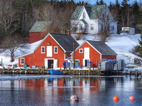 Fishing Village (Nova Scotia, Canada. Gustavo Thomas © 2014) | Nova Scotia Fishing | Scoop.it