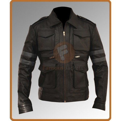 Resident Evil 6 Leather Jacket | Famous Jackets | Scoop.it