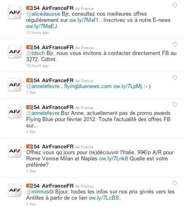 Air France et les médias sociaux du badbuzz au prix | R. Vansnick blog | Gestion de Crise en Community Management | Scoop.it