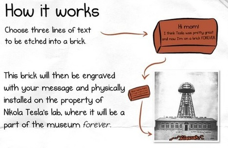 The Oatmeal Launches Another Crowdfunding Campaign To Build The Tesla Museum, One Brick At A Time | TechCrunch | Crowdfunding Happenings | Scoop.it