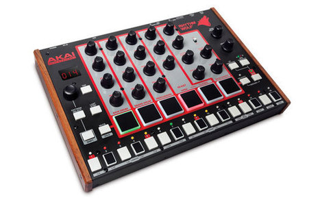Akai's Rhythm Wolf has analog drum machine and bass synth chops for $200   Gear Acquisition Syndrome   Scoop.it