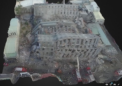 Using Aerial Robotics and Virtual Reality to Inspect Earthquake Damage in Taiwan | Drones | Scoop.it